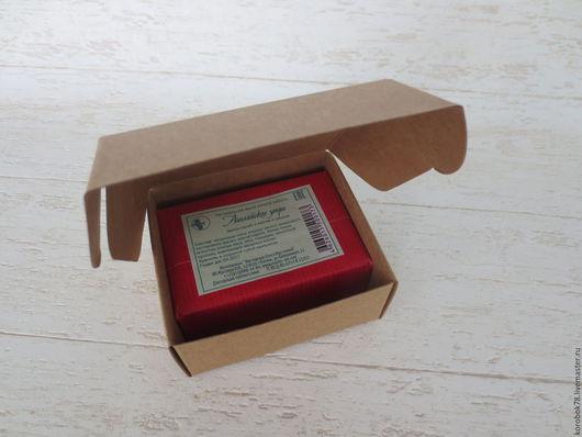 Подарочная упаковка ручной работы. Ярмарка Мастеров - ручная работа. Купить Коробка 85x75x35 самосборная, крафт-бумага, коричневая. Handmade.