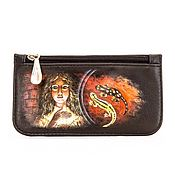 Сумки и аксессуары handmade. Livemaster - original item Housekeeper-coin leather