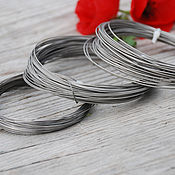 Материалы для творчества handmade. Livemaster - original item Wire of titanium, with various diameters. Handmade.