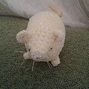 Мягкие игрушки ручной работы. Ярмарка Мастеров - ручная работа Мягкие игрушки: мышонок. Handmade.