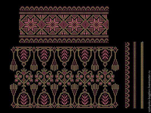 Комплект дизайнов для платья выполненый в технике французского узелка с элементами счетной глади. дизайн очень напоминает ручную вышивку.  Форматы:  pes, hus, jef, dst, exp, vp3, vip, xxx