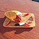 Миниатюрные модели ручной работы. Ярмарка Мастеров - ручная работа. Купить Мясные вкусности. Handmade. Бордовый, Изделия из пластики, еда