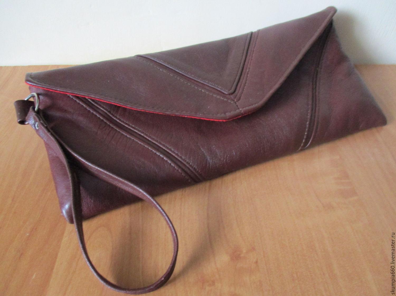 88658e4c6887 Женские сумки ручной работы. Ярмарка Мастеров - ручная работа. Купить  кожаный женский клатч