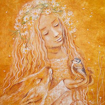 Картины и панно ручной работы. Ярмарка Мастеров - ручная работа Весенка. Handmade.