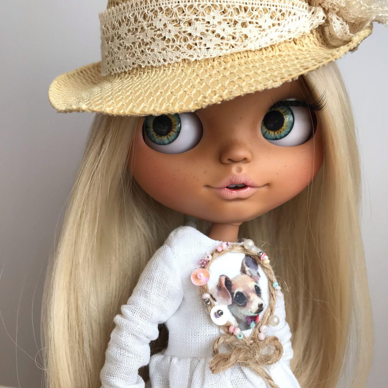 Коллекционные куклы ручной работы. Ярмарка Мастеров - ручная работа. Купить Кукла Блайз! Blythe! Блайз! Стеша! Блондинка. Handmade.