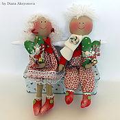 Куклы и игрушки ручной работы. Ярмарка Мастеров - ручная работа Ангелы любви). Handmade.