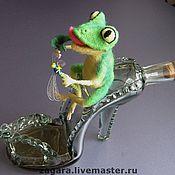 Куклы и игрушки ручной работы. Ярмарка Мастеров - ручная работа Не царевна, но лягушка.... Handmade.