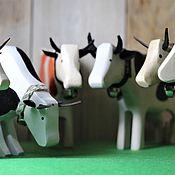 Вальдорфские куклы и звери ручной работы. Ярмарка Мастеров - ручная работа Вальдорфские куклы и звери: Корова. Handmade.
