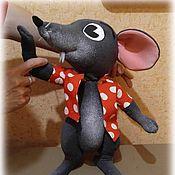 Куклы и игрушки handmade. Livemaster - original item The Puppet Theatre.Tablet doll mouse. Handmade.