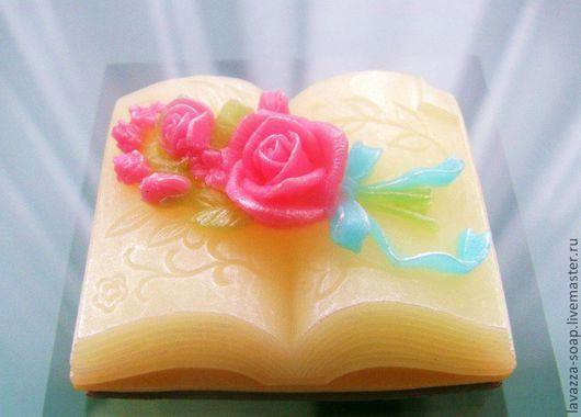 """Мыло ручной работы. Ярмарка Мастеров - ручная работа. Купить Мыло """"Открытая книга"""". Handmade. Книга, мыло ручной работы"""