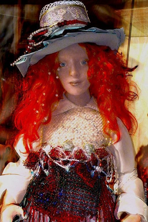 Портретные куклы ручной работы. Ярмарка Мастеров - ручная работа. Купить Катя портретная кукла. Handmade. Портретная кукла, трессы