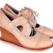 Обувь ручной работы. Ярмарка Мастеров - ручная работа Stockholm, необыкновенные, винтажные оксфорды.. Handmade.