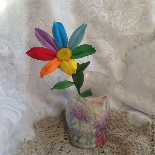 Персональные подарки ручной работы. Ярмарка Мастеров - ручная работа. Купить Цветик-семицветик. Handmade. Комбинированный, необычный подарок, фом