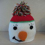 Работы для детей, ручной работы. Ярмарка Мастеров - ручная работа вязаная шапочка. Handmade.