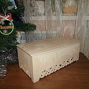 Материалы для творчества handmade. Livemaster - original item Jewelry box (casket) large 652. Handmade.