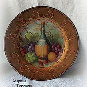 Посуда handmade. Livemaster - original item Plate decorative