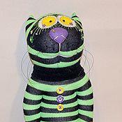 """Куклы и игрушки ручной работы. Ярмарка Мастеров - ручная работа Игрушка из носка """"Кот Кислотный"""" для Анны. Handmade."""