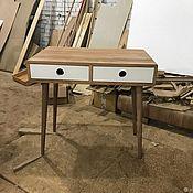 Столы ручной работы. Ярмарка Мастеров - ручная работа Рабочий стол из дуба Flat v2. Handmade.