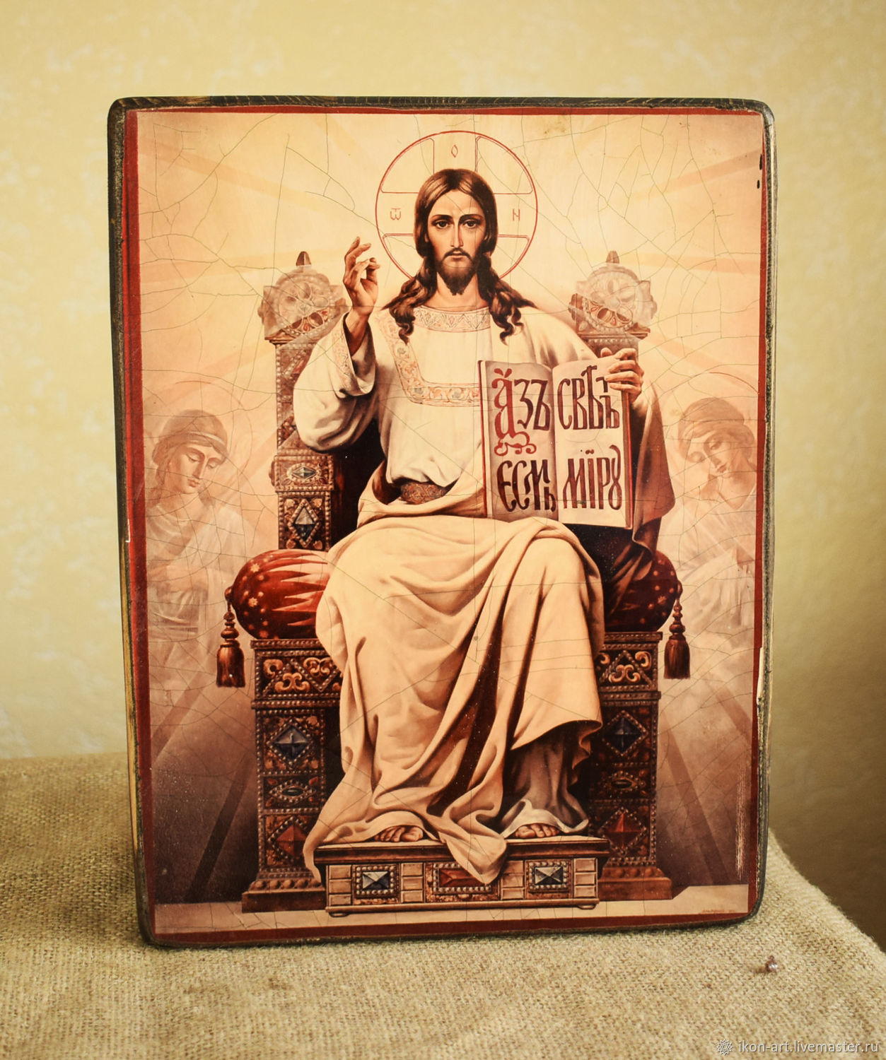 Icon 'Lord Almighty on the throne', Icons, Simferopol,  Фото №1