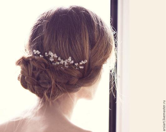 Заколки ручной работы. Ярмарка Мастеров - ручная работа. Купить Золотые шпильки для волос, Аксессуары для волос свадебные, Шпильки для. Handmade.