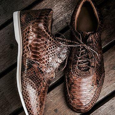 Обувь ручной работы. Ярмарка Мастеров - ручная работа Туфли спортивные. Handmade.