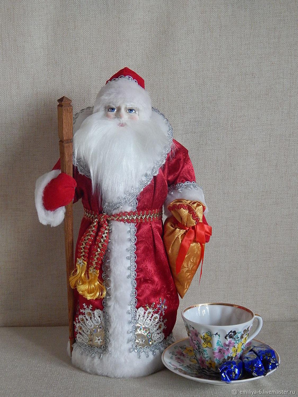 Дед Мороз:, Народная кукла, Москва,  Фото №1