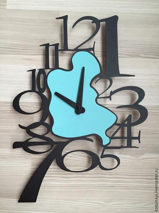"""Часы для дома ручной работы. Ярмарка Мастеров - ручная работа. Купить Часы 36/26см """"Tilk-1"""". Handmade. Часы"""