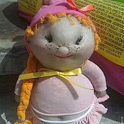 Куклы и игрушки ручной работы. Ярмарка Мастеров - ручная работа Радужный пупс Маринка. Handmade.