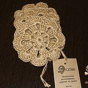 Для дома и интерьера handmade. Livemaster - original item A set of coasters under hot jute.. Handmade.