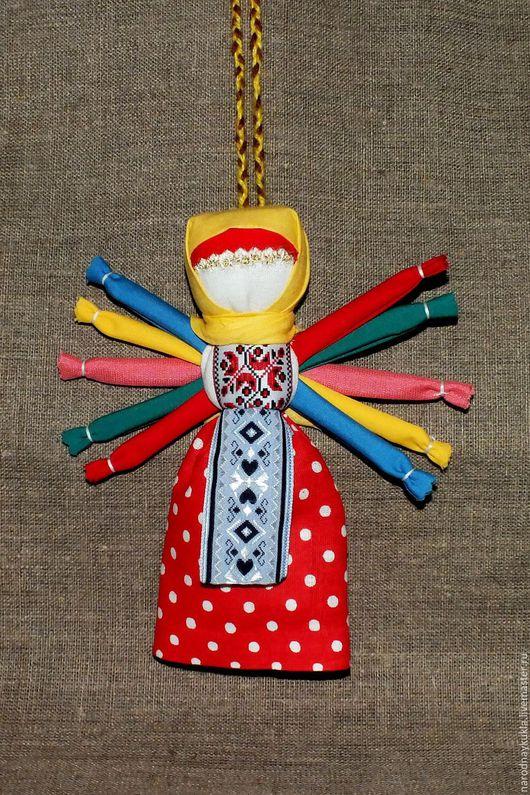 """Народные куклы ручной работы. Ярмарка Мастеров - ручная работа. Купить Народная кукла """" Десятиручка"""". Handmade. Комбинированный"""