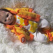 """Комплекты одежды ручной работы. Ярмарка Мастеров - ручная работа """"Жирафенок""""- комплект для малыша. Handmade."""