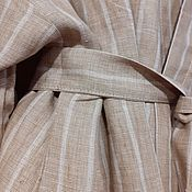 Robes handmade. Livemaster - original item Linen Bathrobe. Handmade.