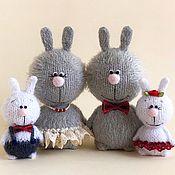 Куклы и игрушки handmade. Livemaster - original item family of hares.. Handmade.