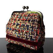Сумки и аксессуары handmade. Livemaster - original item Small handbag, purse, gold purse with clasp, clutch bag. Handmade.