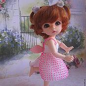 """Куклы и игрушки ручной работы. Ярмарка Мастеров - ручная работа Платье с бисером """"Маленький ангел"""". Handmade."""
