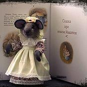"""Мягкие игрушки ручной работы. Ярмарка Мастеров - ручная работа Кукла """"миссис Мыштон"""". Handmade."""