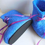 Обувь ручной работы. Ярмарка Мастеров - ручная работа Валенки (ботинки) детские. Handmade.