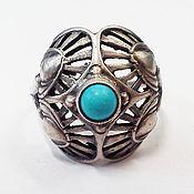 Винтаж handmade. Livemaster - original item Silver, turquoise, 1993.. Handmade.