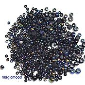 Материалы для творчества handmade. Livemaster - original item 10g Toho MIX 3210 Borakku Japanese Beads TOHO Borakku Black Mix. Handmade.