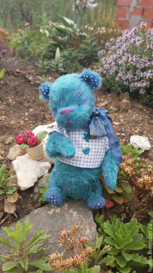 Мишки Тедди ручной работы. Ярмарка Мастеров - ручная работа. Купить Медвежонок Клод. Handmade. Мишка тэдди авторский