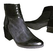 Ботинки ручной работы. Ярмарка Мастеров - ручная работа Стильные ботинки. Handmade.