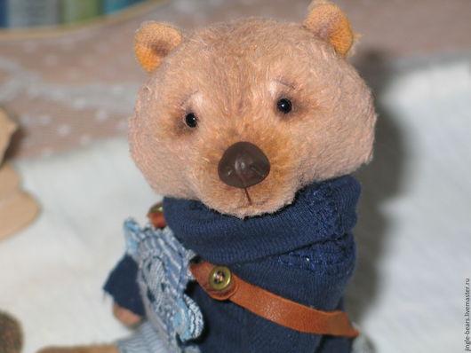 Мишки Тедди ручной работы. Ярмарка Мастеров - ручная работа. Купить Михалыч. Handmade. Бежевый, handmade, мишка в одежке