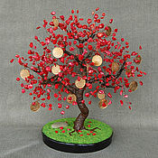 Цветы и флористика handmade. Livemaster - original item Mint tree red coral. Handmade.