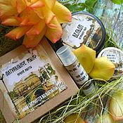Косметика ручной работы. Ярмарка Мастеров - ручная работа Подарочный набор мыла и косметики в жестяной подарочной коробке. Handmade.