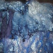 """Одежда ручной работы. Ярмарка Мастеров - ручная работа Бохо пальто """"Море ...песок...тепло.."""". Handmade."""