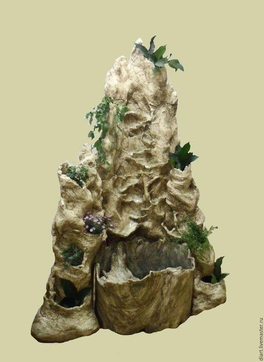 Элементы интерьера ручной работы. Ярмарка Мастеров - ручная работа. Купить фонтан-каскад. Handmade. Комбинированный, природа, комнатные фонтаны