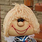 """Куклы и пупсы ручной работы. Ярмарка Мастеров - ручная работа Текстильная кукла Морячок -""""Ангел"""" интерьерная кукла. Handmade."""