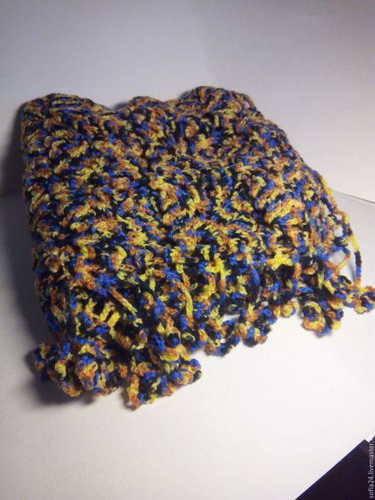 Шарфы и шарфики ручной работы. Ярмарка Мастеров - ручная работа. Купить Шарф вязаный. Handmade. Комбинированный, шарф ручной работы