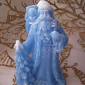 Подарки к праздникам ручной работы. Ярмарка Мастеров - ручная работа Дед Мороз - Новогоднее мыло ручной работы. Handmade.