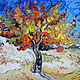 Oil painting on grounds. Vincent Van Gogh. Mulberry tree, Pictures, Rossosh,  Фото №1